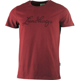 Lundhags M's Tee Dark Red